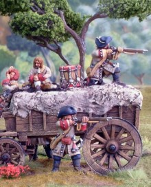 Jacobite Dragoon war wagon