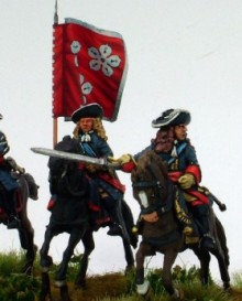 The Earl of Abercorn's Regiment of Horse Command squadron