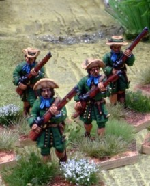 Spanis Colonial Infantry Unit 1