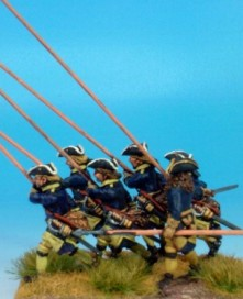 GNW Swedish pikemen attacking
