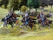 Cossacks arrive behind the French frontline